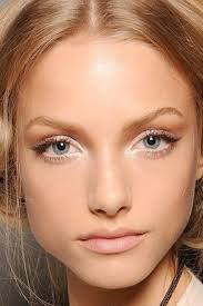 bright natural makeup highlights
