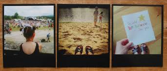 black frame polaroid style prints from square snaps 76sunflowers