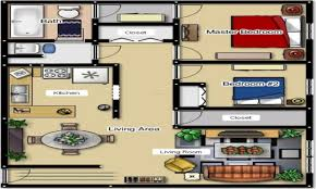 Small 2 Bedroom Cottage Plans 2 Bedroom Apartment Layouts 2 Bedroom Apartment Floor Plans