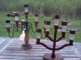 outdoor tree lighting ideas. candelabras from the thrift shop 2 each and solar lights dollar tree outdoor lighting ideas m