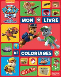 Livre Coloriage Pat Patrouille L