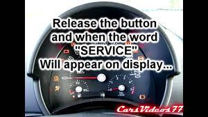 Volkswagen Beetle Airbag Light Reset Vw New Beetle Service Reset Very Easy