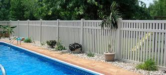 vinyl semi privacy fence. Plain Vinyl Bel Air Pool Fence Semi Privacy Fence For Vinyl