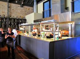 Restaurant open kitchen Rustic Alluring Open Restaurant Kitchen Design With Definition Doors Hdb With Kitchen Plan Shelving Restaurants Indian Morgan Allen Designs Alluring Open Restaurant Kitchen Design With Definition Doors Hdb
