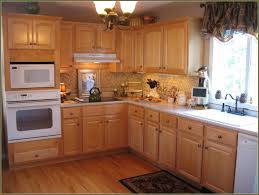 Kitchen Oak Cabinets New Cherry Kitchen Cabinets With Gray Wall And