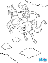 Horse head coloring pages - Hellokids.com
