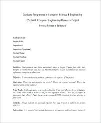 How To Develop A Research Proposal Magnificent Research Project Template For Students Project Title Sample Proposal