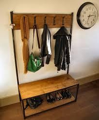 Coat Rack Industrial Mesmerizing Steel Industrial Coat Rack Vintage Luxury Life Farm