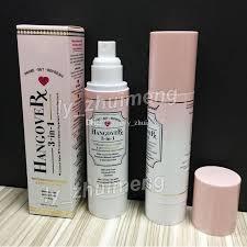 new hangover rx 3 in 1 makeup primer set refresh replenishing spray setting 120ml foundation primer