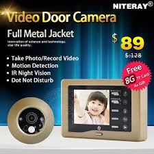 camera for front doorAliexpresscom  Buy Digital door viewer video motion sensor