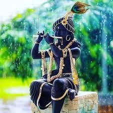 🔥 Black Krishna Murti Photo Images ...
