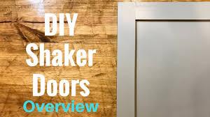 how to make shaker cabinet doors. Exellent How DIY Shaker Cabinet Doors  Part 1 Overview With How To Make S