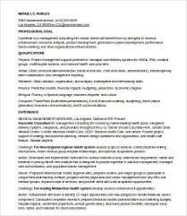 Consulting Resume Impressive 28 Management Consulting Resume Templates PDF DOC Free