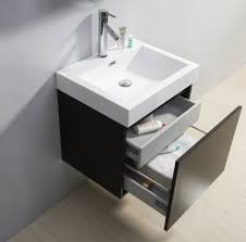 24 Inch Sink Cabinet Bathroom Modern White 24 Bathroom Vanity With 4 Drawers For