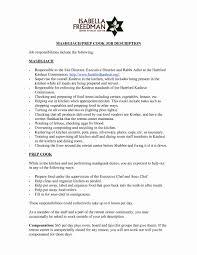 Chef Job Description Resume Sous Chefob Description Example Executive Sample Duties Resume 22