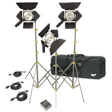 Professional Film Lighting Equipment Production Lighting The Best Video Lighting Kits For Filmmakers