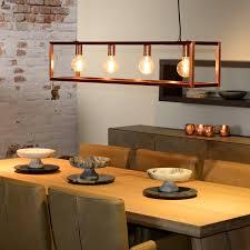pendant lighting for bars. Lucide Oris 4 Light Bar Ceiling Pendant - Copper Lighting For Bars R