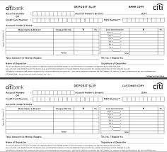 Bank In Slip Sample Deposit Template Word Axis Cash – Goeventz.co