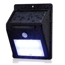 Automatic Outdoor Light Everbrite Deluxe Motion Activated Led Solar Outdoor Light