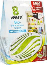 Купить <b>Поглотитель запаха</b> Breesal для <b>холодильника</b> 80г с ...