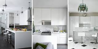 white modern kitchen. 40 Best White Kitchens Design Ideas - Pictures Of Kitchen Decor ELLEDecor.com Modern