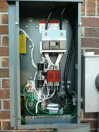 installing a standby generator ats the garage journal board