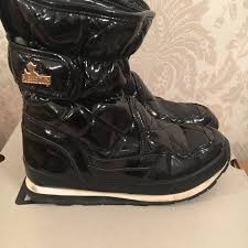 Rubber Duck Snow Joggers Snow Boots Size 5 38 Shiny