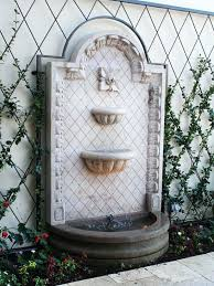 outdoor wall waterfall image of outdoor wall water fountains innovative