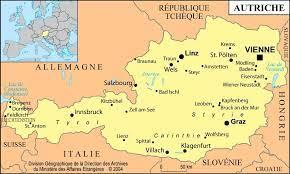 Wels sur le site mapcarta, la carte ouverte. Carte De L Autriche Decouvrir Des Cartes Sur L Autriche En Europe