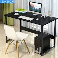 office desk tables. Modern Wood Table Home Office Desk Workstation Computer PC Child Student Study Waterproof 120x55cm Tables
