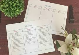 Daily Routine Maker Creating A Daily Routine Plus A Free Printable Creative
