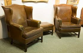 Leather Wingback Chair For Sale Furniture Ethan Allen Leather Furniture For Excellent Living Room