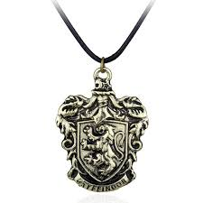 details about gryffindor house crest pendant necklace harry potter hogwarts wizarding world