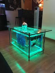 fish tank coffee table rare pictures concept green sofa theme about