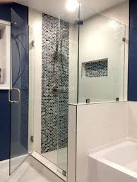 walk in shower half wall corner shower half wall assistance of location and type page terry walk in shower half wall