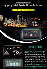 <b>GEYIREN</b> X5 Car <b>HUD OBD</b> II <b>Head</b> Up Display Overspeed Warning ...