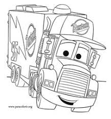 cars the movie characters coloring pages. Beautiful Characters Free For Kids Mack Car 2 Coloring Pages Disney  Printable Coloring Pages  For Ki Throughout Cars The Movie Characters W
