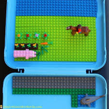 lego travel activity case