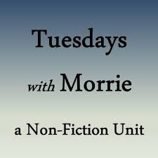 best teaching tuesdays morrie images  tuesdays morrie unit plan
