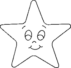 Small Picture Coloring Page Of Star Star Coloring Pages For Kidsgif Maxvision