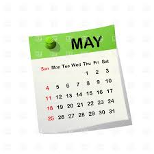 calendar for the month of may may 2014 month calendar royalty free vector clip art image 20534
