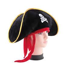 <b>Pirate Captain</b> Hat Skull & Crossbone Design Cap Costume for ...