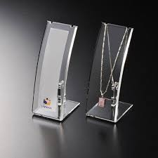 Acrylic Necklace Display Stands Awesome J32 Clear Lucite Portable Organize Jewelry Display Plugs