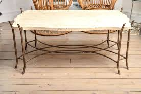 limestone top coffee table agreeable iron base limestone top coffee table with scalloped e limestone top limestone top coffee table