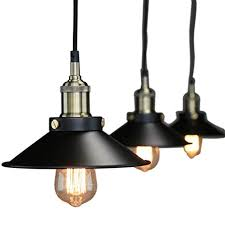 Image Fabby Pendant Lighting Industrial Vintage Hanging Light Ceiling Mount Fixture Black Lights Amazoncom Amazoncom Pendant Lighting Industrial Vintage Hanging Light Ceiling Mount