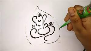Ganpati Mehndi Design Ganesh Chaturthi 2019 Special Mehndi Design Images