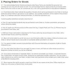 myer terms and conditions
