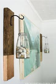 absolutely smart wall art beach decor v sanctuary com 7 large scale with wood for bathroom