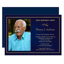 90 Birthday Party Invitations 90th Birthday Party Invitations Add Your Photo