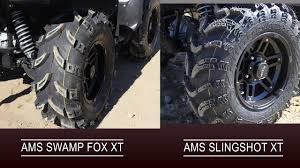 Top 8 Performing Atv Tires In The 25 Inch Tire Shootout For 2018 By Chaparral Motorsports Pt
